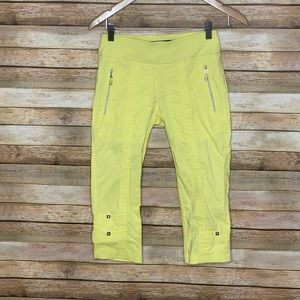 Jaime Saddock| Golf Capri| Yellow| Size0